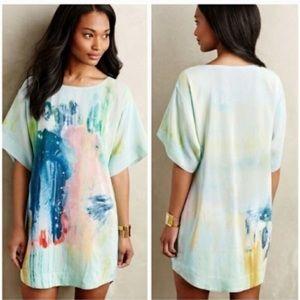 Anthropologie Dresses - Anthropologie silk dress